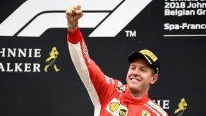 Vettel gana el Gran Premio de Bélgica por delante de Hamilton