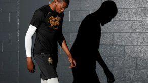 Durant sufre una lesión que pudiera afectar a los Warriors
