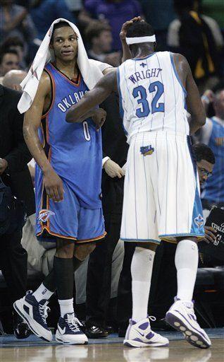 NBA: Hornets 109, Thunder 90
