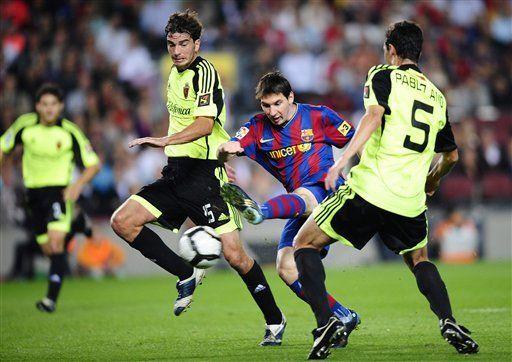 Messi elegido mejor jugador de la liga española