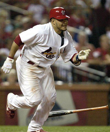 MLB: MLB: Eds: Cardenales 11, Padres 7; Molina decide el juego