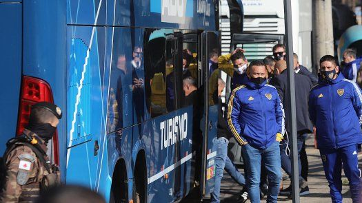 Jugadores de Boca Juniors declararon por el escándalo en Copa Libertadores