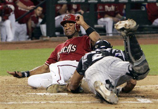MLB: Diamondbacks 8, Rockies 4