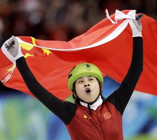 Medallista china resulta herida después de una pelea