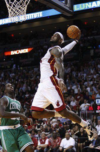 NBA: Heat 115, Celtics 107; Cole brilla y Miami vence a Boston