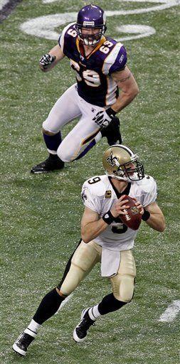 NFL: Saints 42, Vikings 20; Brees lanza cinco pases de anotación