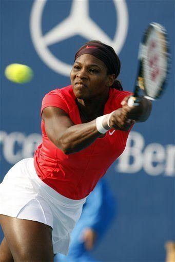 Serena Williams avanza en China; Acasuso es derrotado