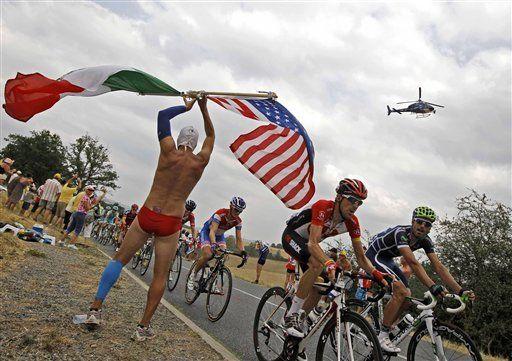 Voeckler defiende la punta en undécima etapa del Tour de Francia