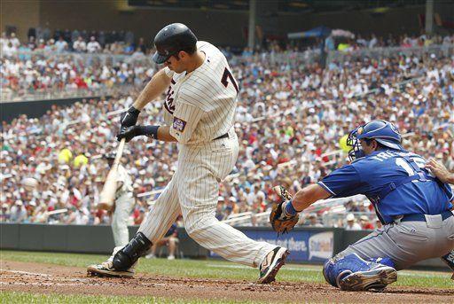 MLB: Mellizos 4, Reales 3; Thome pega su 596to jonrón