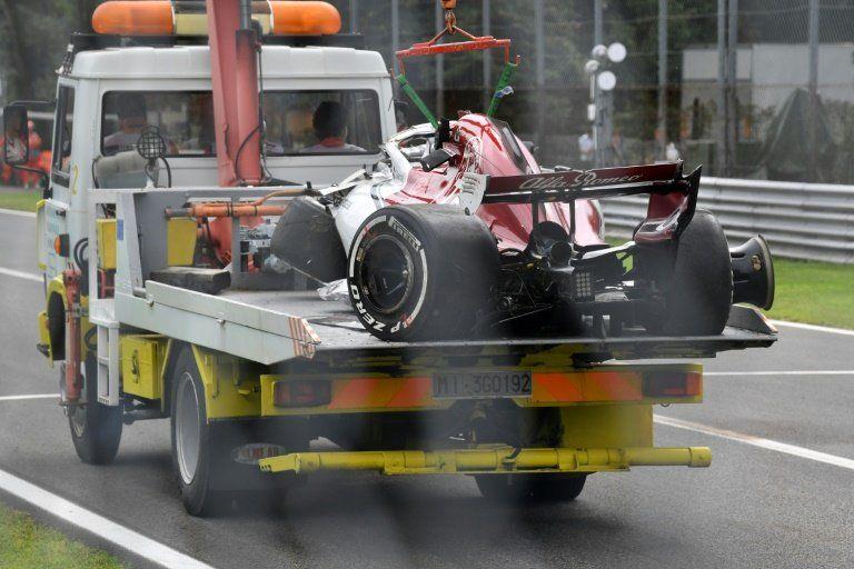 Ericsson sale indemne de un espectacular accidente en Monza