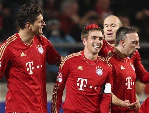 Bayern gana 2-1 a Stuttgart y aumenta ventaja en la cima