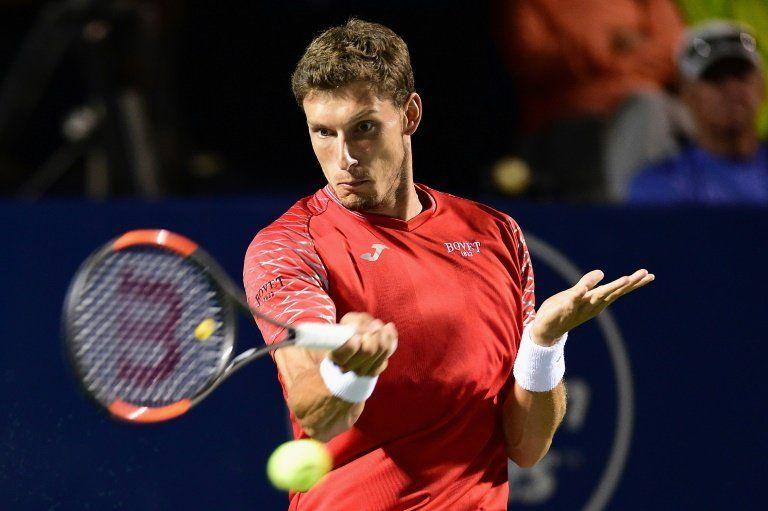 El español Carreño Busta cae con Johnson en semifinales en Winston-Salem