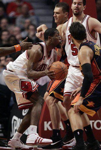 NBA: Bulls 110, Warriors 88; Salmons encesta 23 puntos