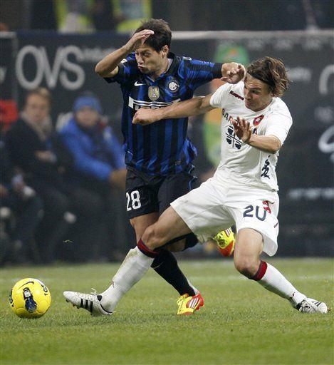 Italia: Thiago Motta y Coutinho le dan triunfo al Inter