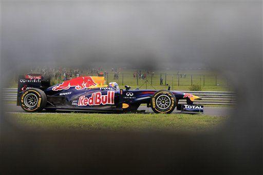 F1: Vettel encabeza práctica antes de clasificatoria en Hungría