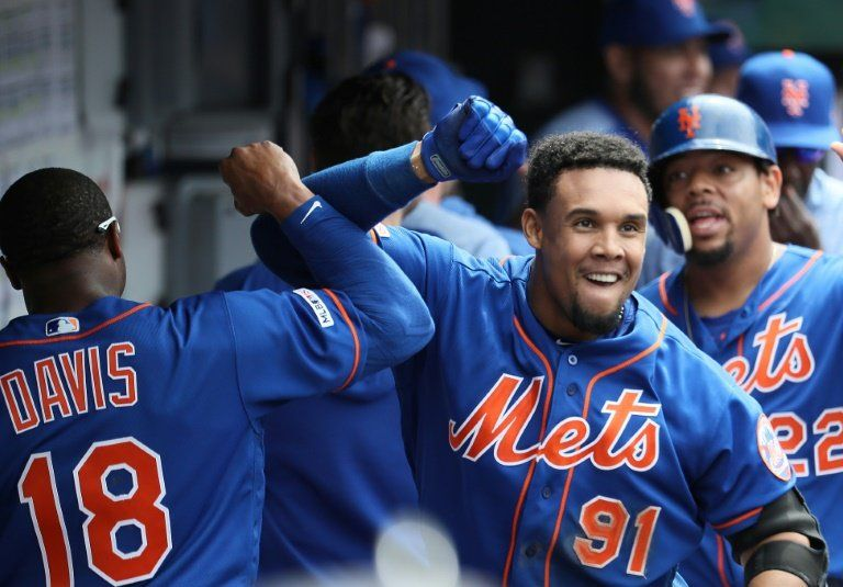El dominicano Gómez decide la victoria de Mets y Yankees siguen imparables