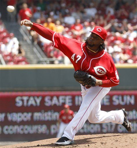 MLB: Rojos 9, Gigantes 0; Cueto gana para completar barrida
