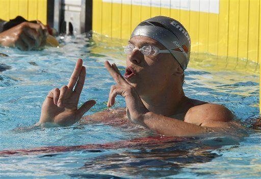 Nadador brasileño César Cielo castigado por dopaje
