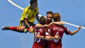 Colombia y Portugal empatan 1-1 en juego inaugural del Mundial de Futsal