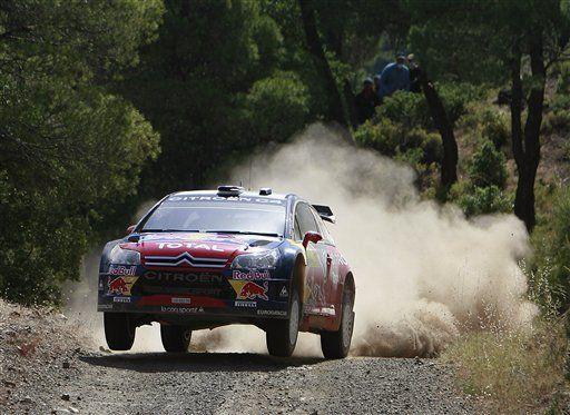 Loeb sigue en la delantera en Rally de Grecia