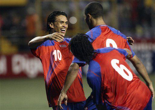 Mundial: Costa Rica golea 4-0 a Trinidad y ahora es tercero