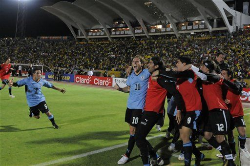 Mundial: Uruguay satisfecho con victoria en Ecuador