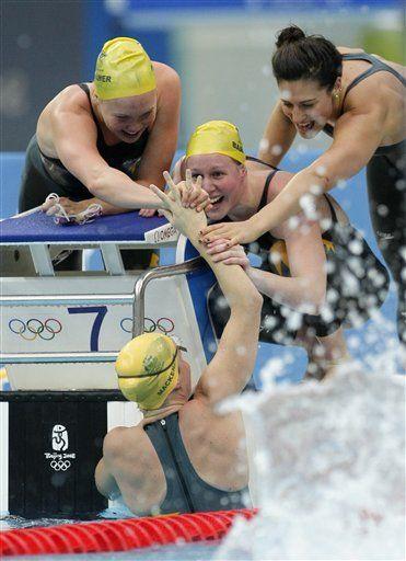 Sin Phelps encima, otros actores se lucen en la natación