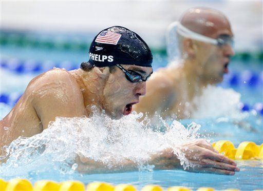 Vuelve Phelps, el Rey del Oro, y Estados Unidos arrasa