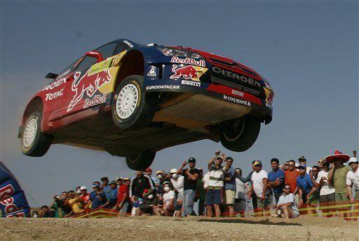 Loeb en el liderato al inicio del Rally de Grecia