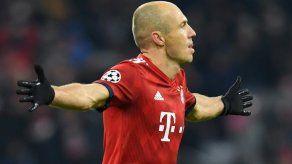 Robben dejará el Bayern Múnich a final de temporada