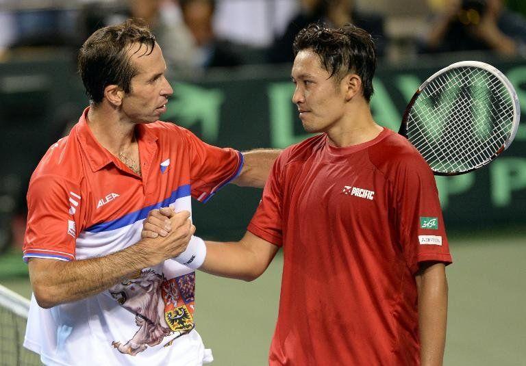 República Checa gana 2-0 a Japón en cuartos de la Copa Davis
