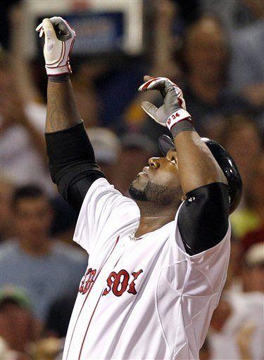 MLB: Medias Rojas 12, Reales 5; Big Papi conecta grand slam