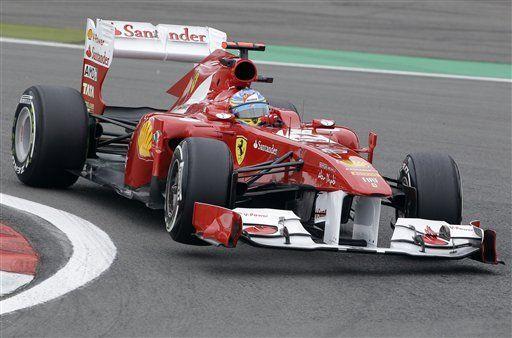 F1: Alonso logra mejor tiempo en primera práctica en Alemania