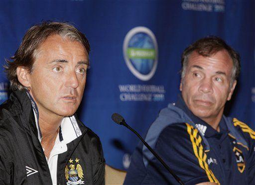 Mancini: Tevez sigue siendo importante para el Manchester City