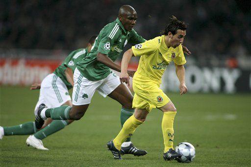 Campeones: Villarreal vence 2-1 al Panathinaikos y avanza