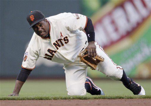 Tejada sufre desgarre muscular abdominal ante Dodgers