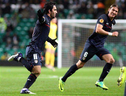 Europa: Atlético sella boleto a 16vos de final