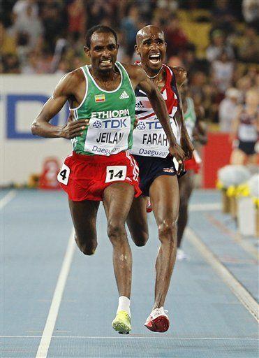 Mundial: Jeilan pone fin al reinado a Bekele en los 10.000