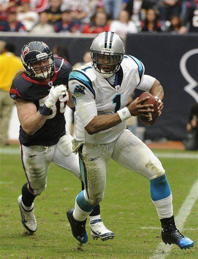 NFL: Panthers 28, Texans 13; Carolina termina racha de Houston