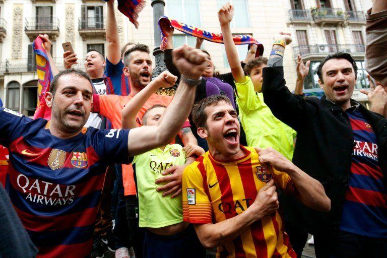 El Barça critica el veto a la bandera independentista