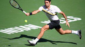 Federer no tiene piedad de Krajinovic y está en octavos de Indian Wells
