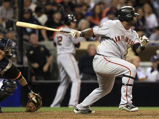MLB: Gigantes 6, Padres 2, 12 innings; Huff define con jonrón