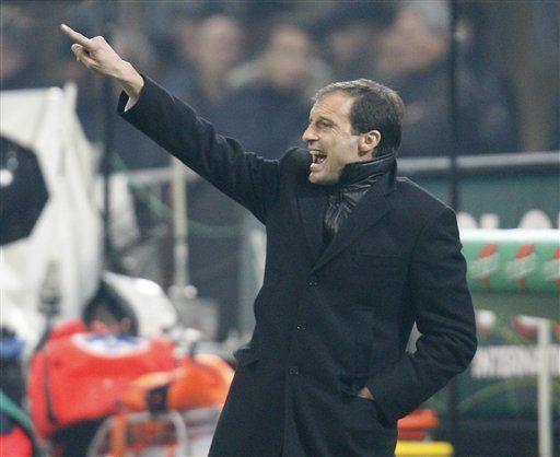 Allegri confía en renovar por 2 años su contrato con el Milan