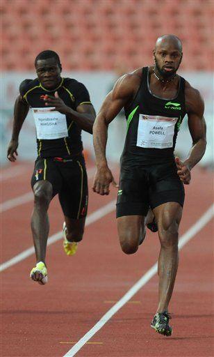 Powell gana los 100 metros con 9,86 segundos en Hungría