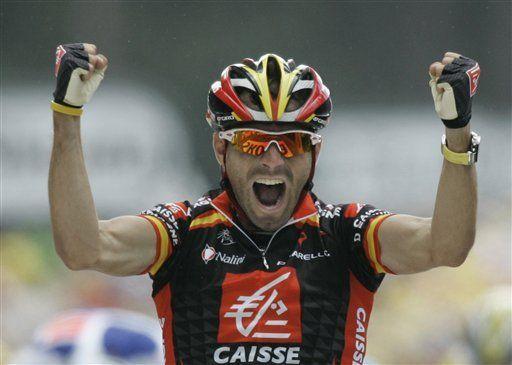 Valverde gana primera etapa del Tour de Francia