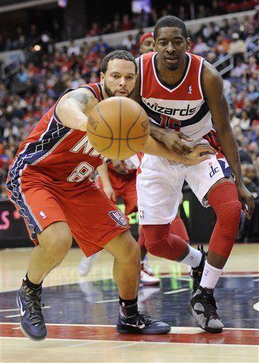NBA: Nets 90, Wizards 84; Humphries logra 21 puntos y 16 rebotes