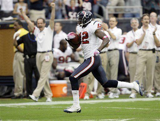 NFL: Texans 29, Raiders 6; Slaton suma dos anotaciones