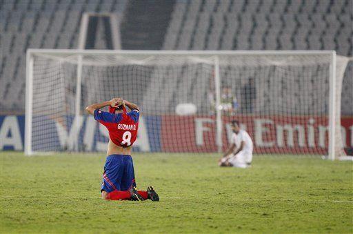 Sub20: Costa Rica lucha con la fatiga para pasar a semifinales