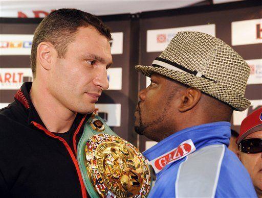 Klitschko promete que le dará una lección a Gómez