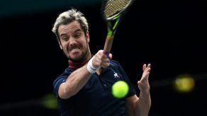 El francés Richard Gasquet ausente de la final de la Davis contra Croacia
